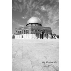 Eid kort - Dome of the Rock