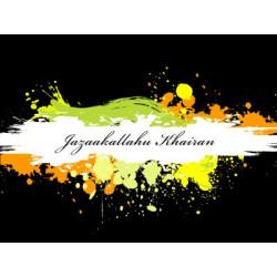 Postkort - Jazaakallah Khayr 2
