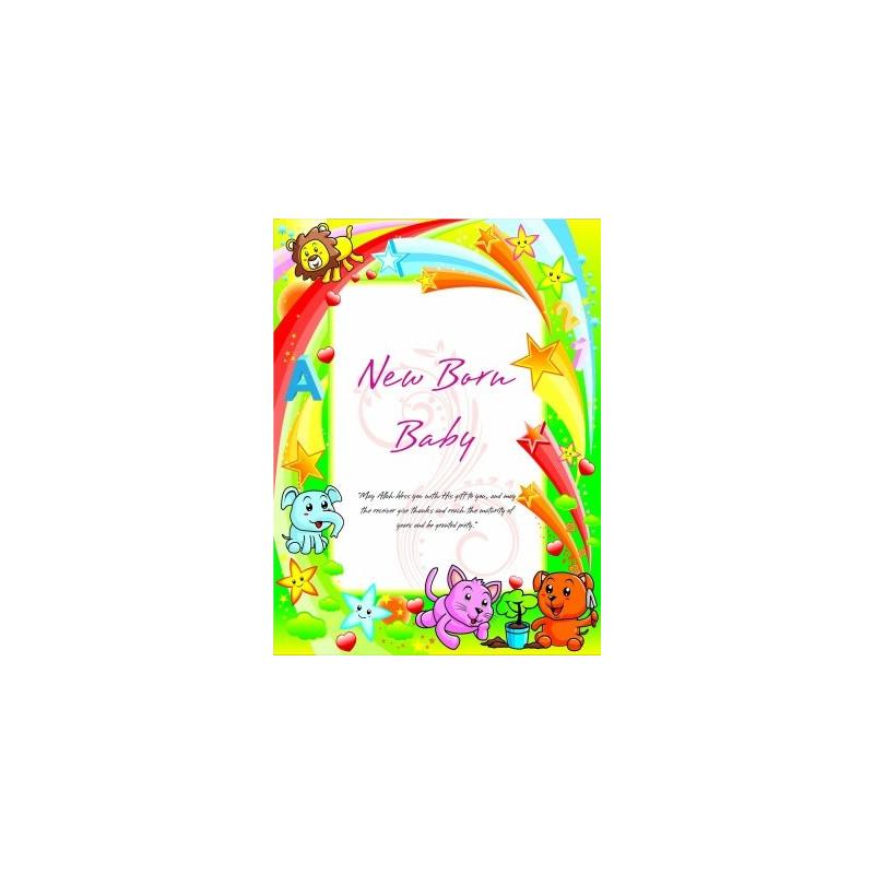 Postkort - New Baby Born