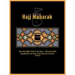 Postkort - Hajj Mubarak
