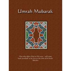 Postkort - Umrah Mubarak
