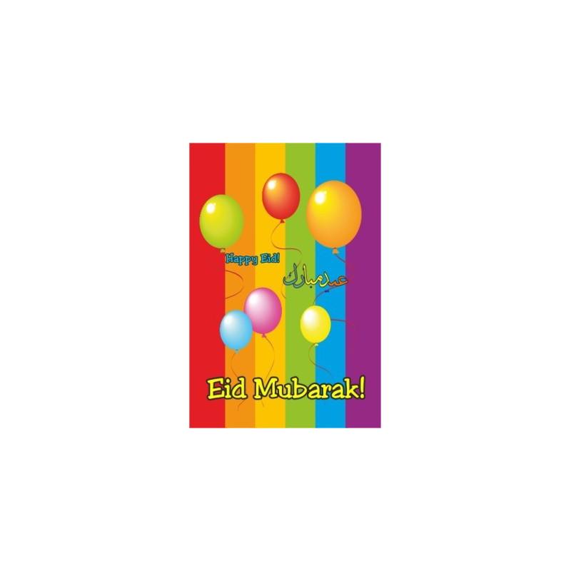 Eid kort - Balloner 1