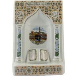 Keramisk Mekka dekoration