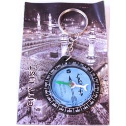 Qibla Kompas på nøglering