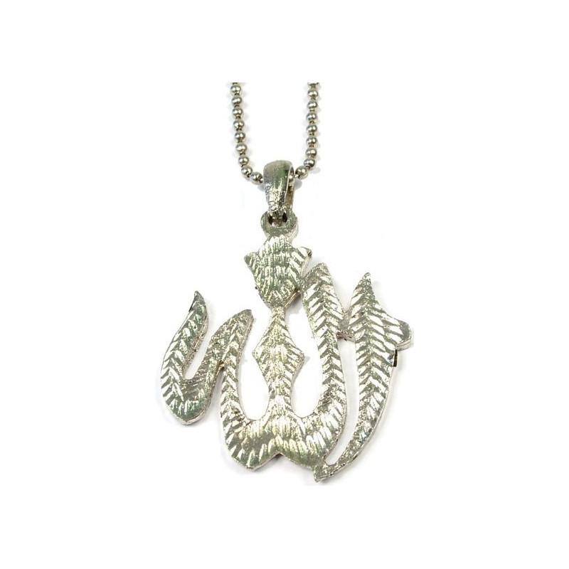 Sølv halskæde - Allah