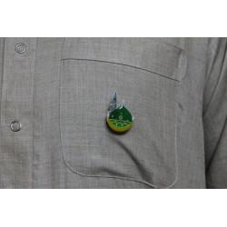 Badge - Gumbad e Khizra (Madina) med lys