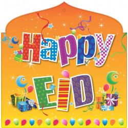 Glædelig Eid (Happy Eid) banner