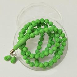 Tasbih med duft - Grøn