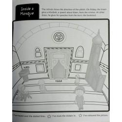 Aktivitetsbog - Moskeer verden over (farve- og malebog)