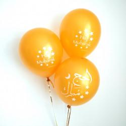Hajj Mubarak balloner - 10 stk
