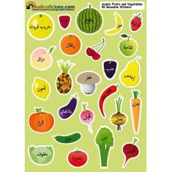 Klistermærker - Frugt og...