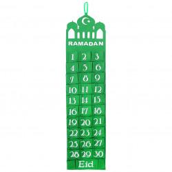 Ramadan kalender - Grøn...