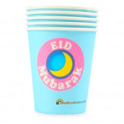 Eidfest kopper - Blå (5 stk)